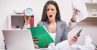 Organisieren Sie den Stress