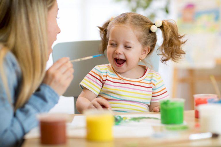 Muster malen – die einfache Kinderbeschäftigung