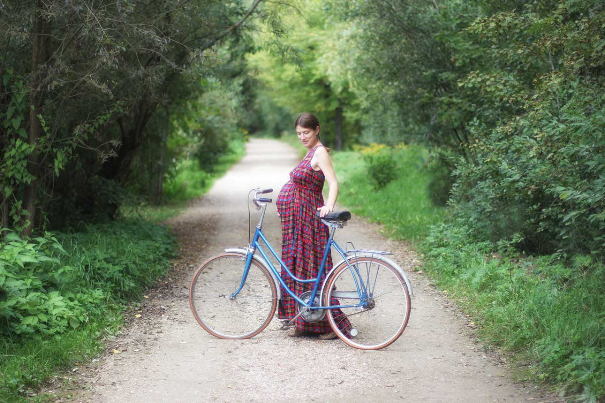 Gesunde Schwangerschaft durch Radfahren