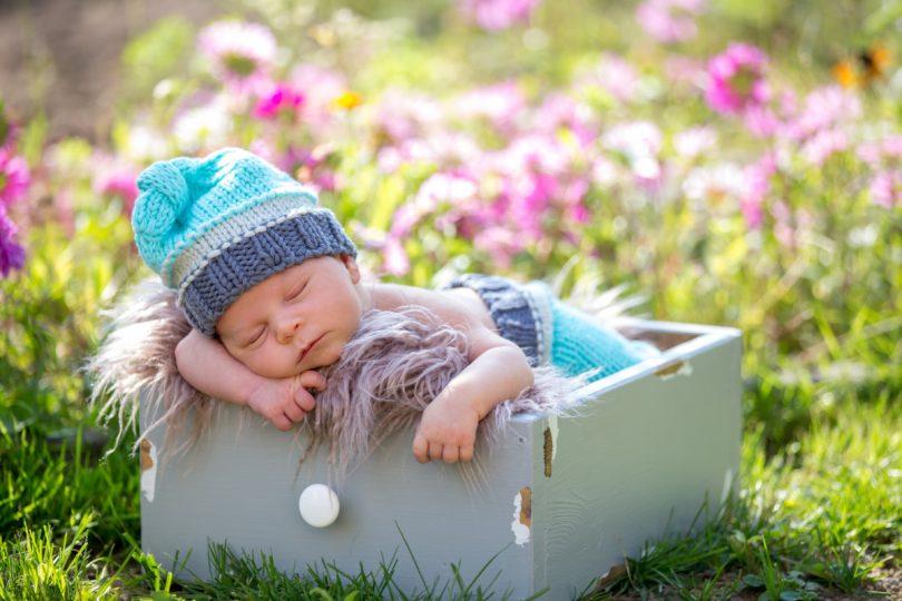 nackt schlafen mit baby