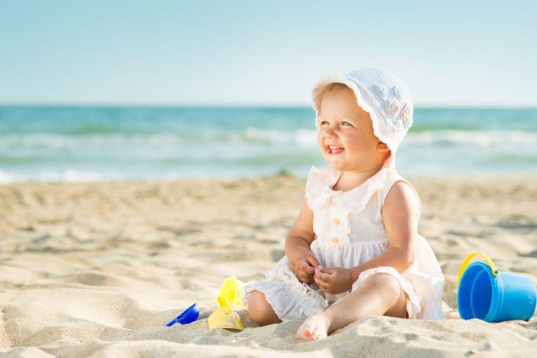 Tipps für den Strandurlaub mit Baby