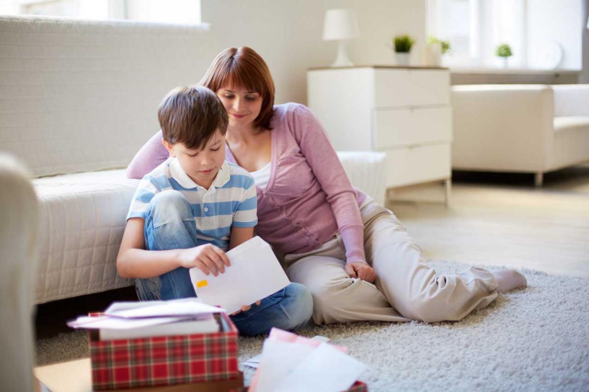 Elternabend: Schreiben Sie Ihrem Kind einen Brief