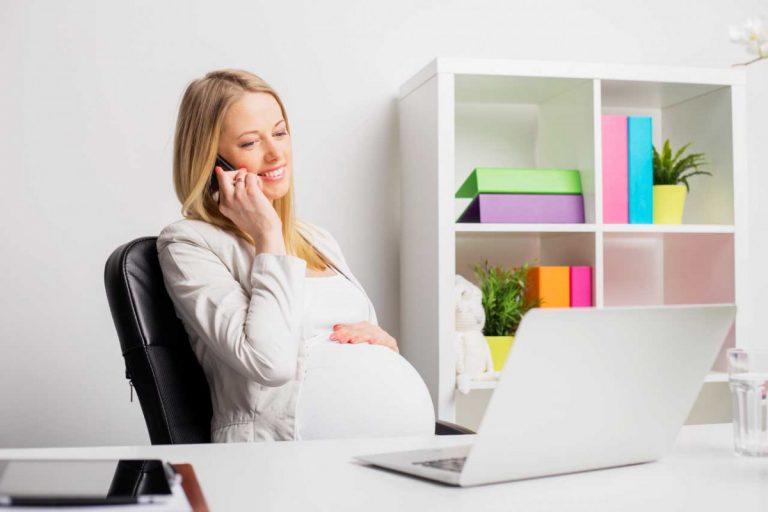 Ist Bildschirmarbeit in der Schwangerschaft erlaubt?