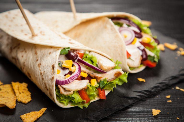 Wraps selber machen: Mit diesem Rezept genießen Sie gesundes Fast Food