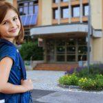 Ein Rucksack ist schlecht für Kinderrücken