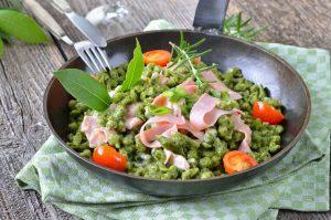 Rezept für Südtiroler Spinatspätzle
