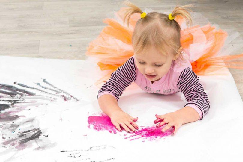 Kindergeburtstag im Kindergartenalter: Bildergeschichte erfinden
