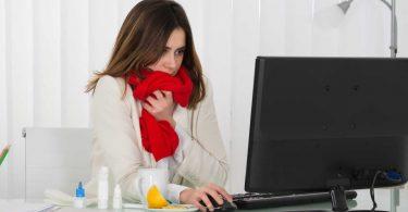 Mit einer Erkältung ins Büro? - Wann bin ich zu krank zum Arbeiten?