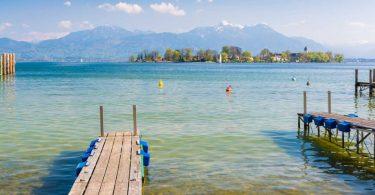 Ausflugstipp Chiemsee: Die grüne Fraueninsel im Bayerischen Meer