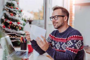 Berufliche Weihnachtswünsche gezielt verteilen