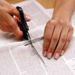 Nägel wie gedruckt – Newspaper Manicure