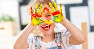 Kinderleicht gestalten: Bild aus Fingerabdrücken