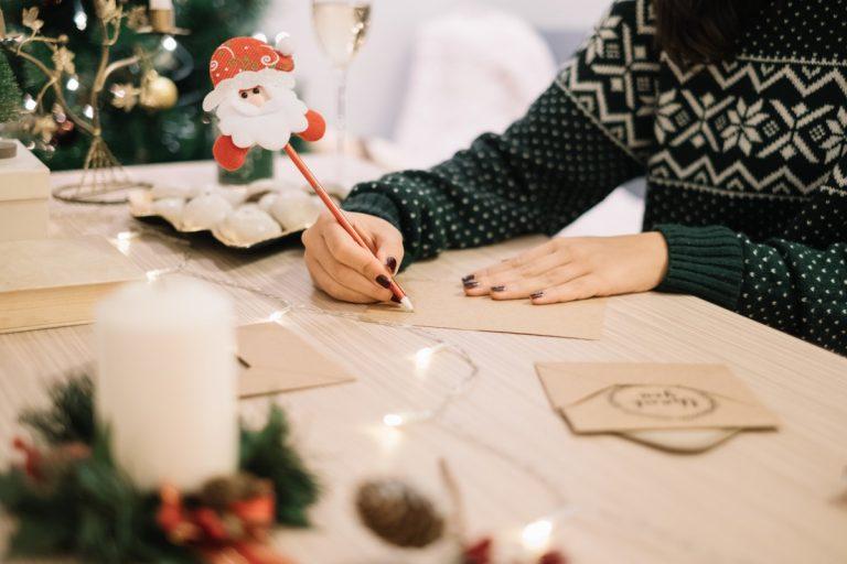 Checkliste für die Weihnachtsgrüße – mit Mustertexten