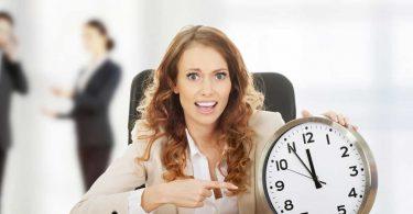 Zeitmanagement: Pünktlichkeit ist eine Zier...