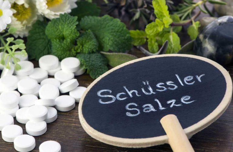 Schüssler-Salze für die Winter-Kur