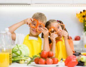 So achten Sie auf eine gesunde Ernährung für Kinder