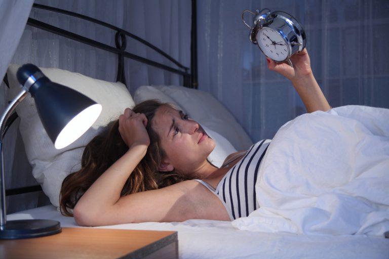 Schlafstörungen: Ursache Stress