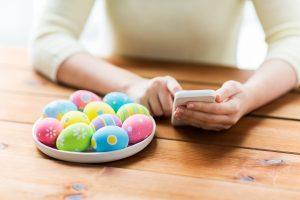 So könnte Ihre geschäftliche Oster-SMS aussehen