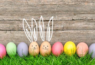 So zeichnen Sie einen Comic-Hasen für Ostern