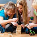 Wie Sie Ihre Kinder mit Geschicklichkeitsspielen auf Trab halten