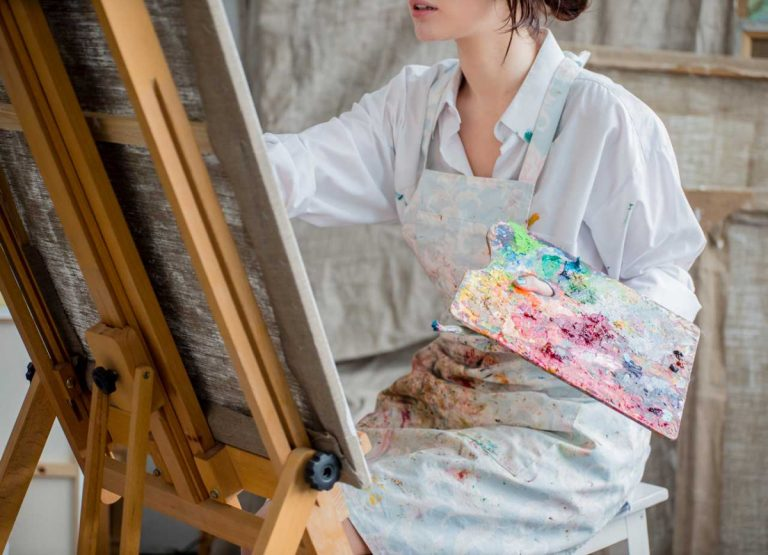 Künstler sein kann jeder – die Übung macht's