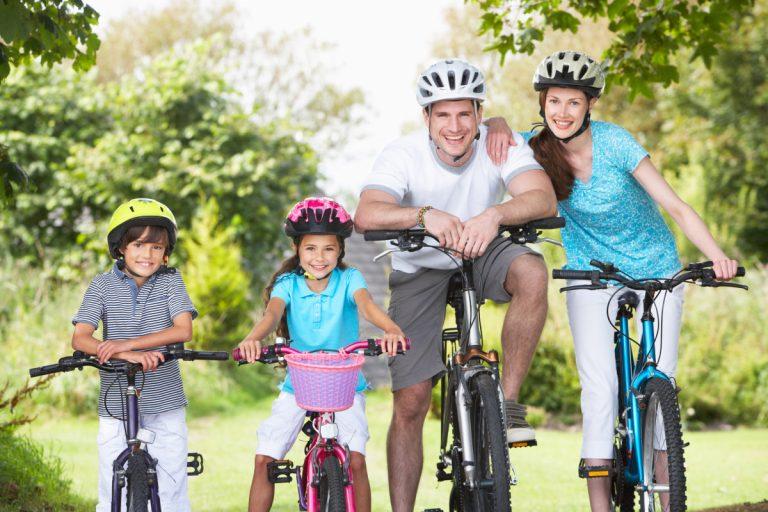 Radtour mit der Familie - darauf sollten Sie achten
