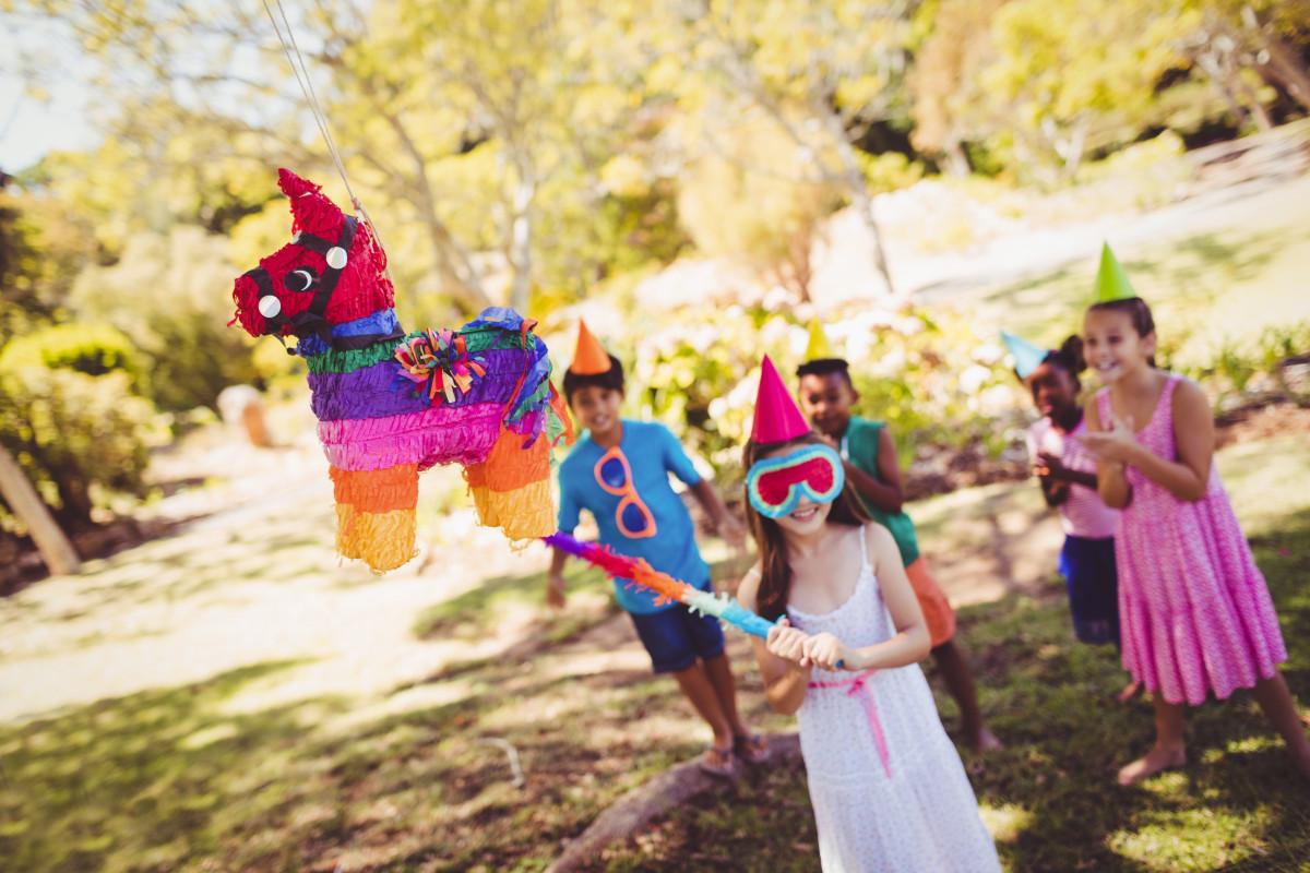 Pinata am Kindergeburtstag – die Regeln