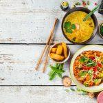 Vorschlag für ein leckeres asiatisches Drei-Gänge-Menü