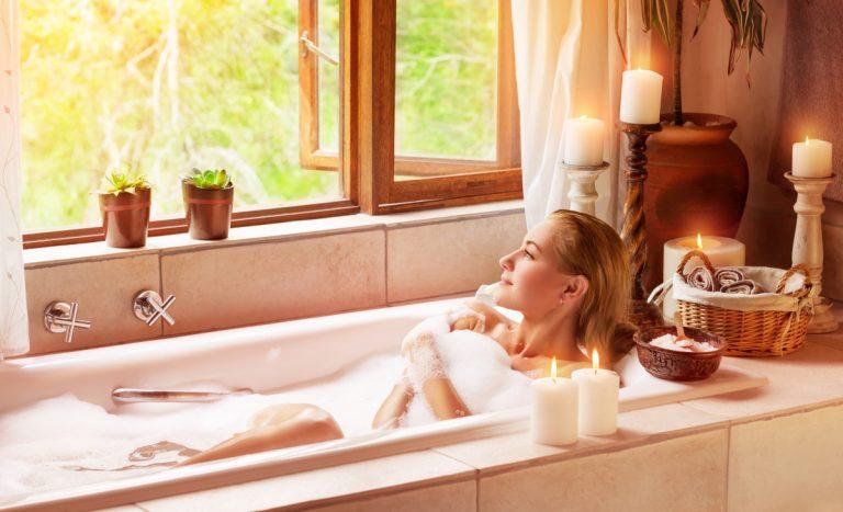 So machen Sie aus Ihrem Badezimmer einen Wellness-Tempel
