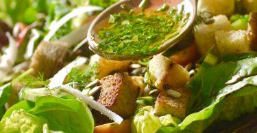 Salat-Dressings für Milch- und Ei-Allergiker