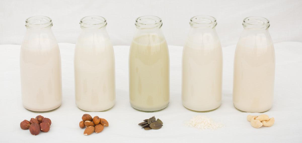 Vegane Ernährung: Pflanzliche Milchalternativen
