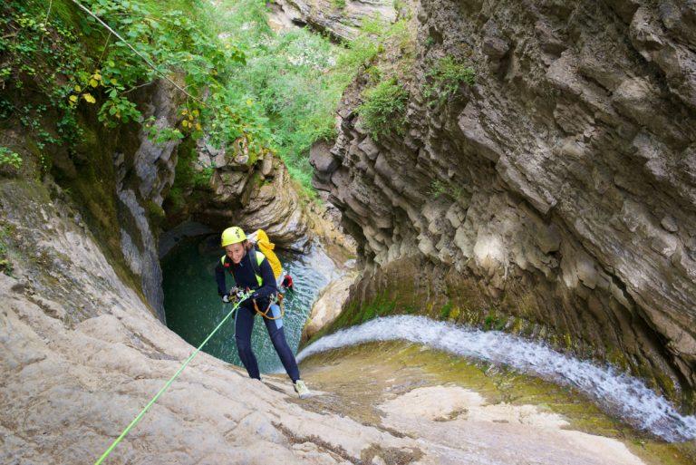 Canyoning – ein Abenteuer in der Natur