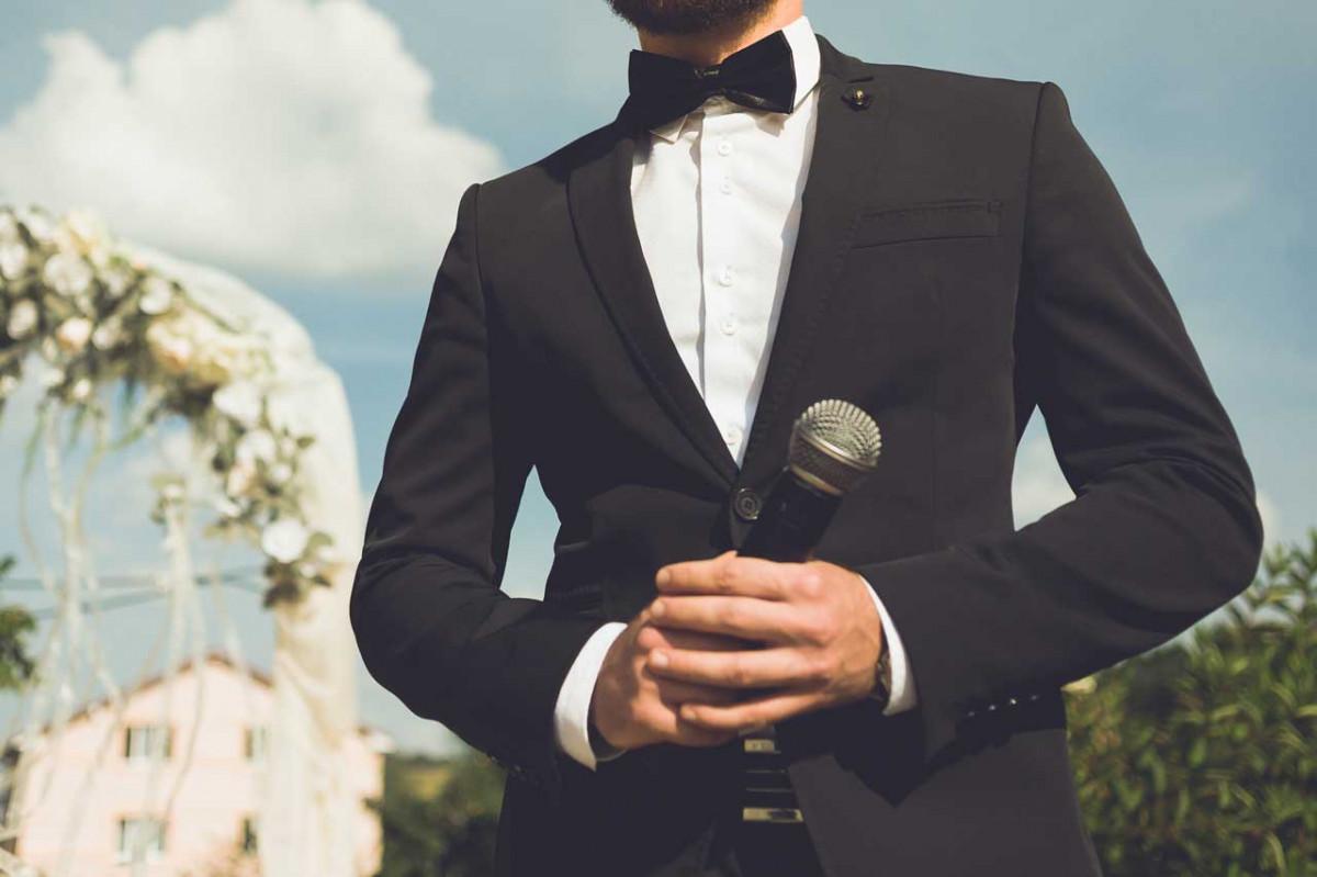 So halten Sie die perfekte Hochzeitsrede