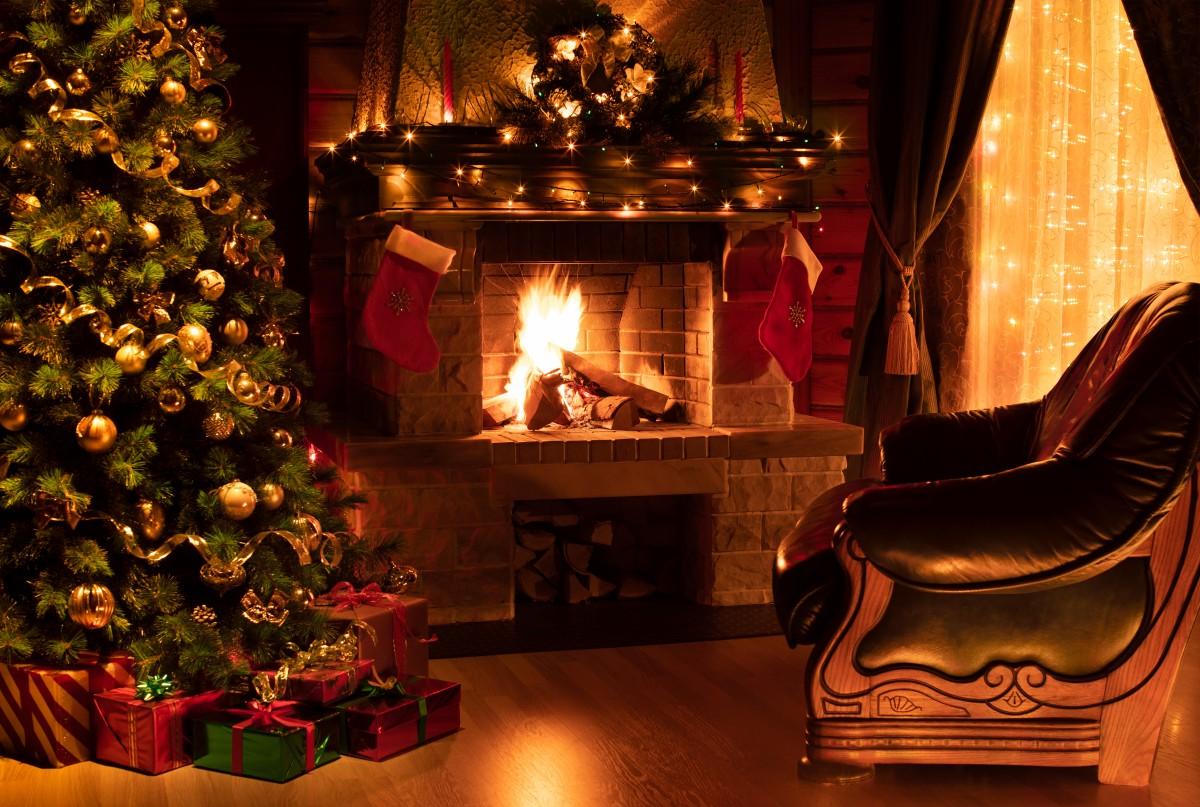 So Dekorieren Sie Ihre Kamin Weihnachtlich Experto De