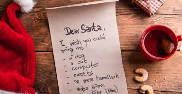 So können Sie den Brief an den Weihnachtsmann gestalten