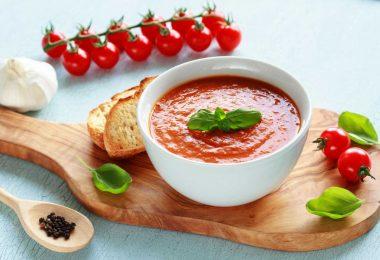 Weiße Tomatensuppe – wie geht das?