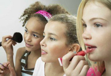 Schminken bei Mädchen – ein Grund zur Sorge?