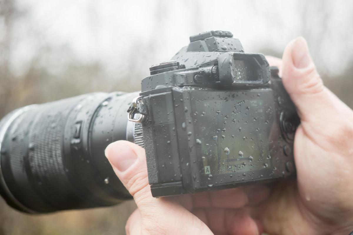 Fotografieren bei schlechtem Wetter