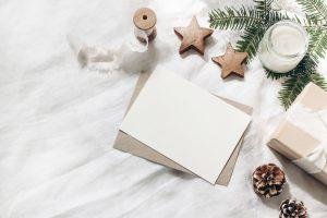 Neujahrsgrüße statt Weihnachtsgrüße