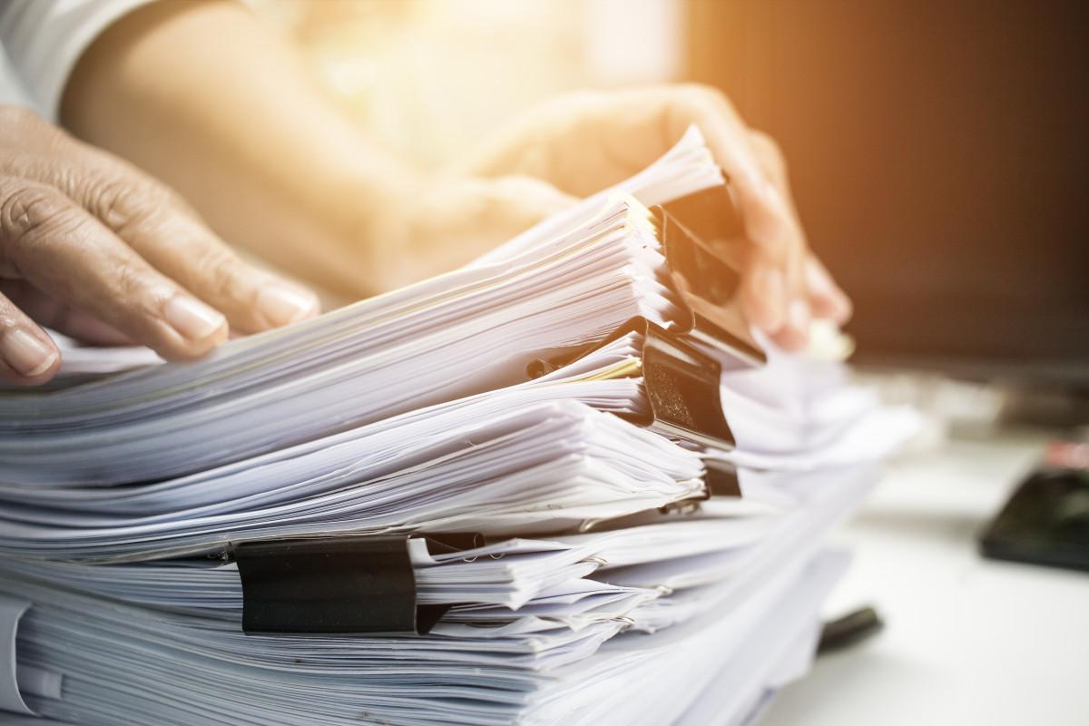 Arbeitsorganisation: So entstehen erst gar keine Papierstapel