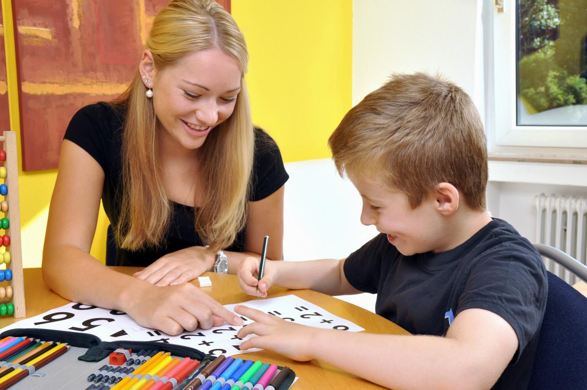 Kinder mit einer Lese-Rechtschreibschwäche fördern