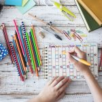 Mit Kindern einen Jahreszeitenkalender basteln