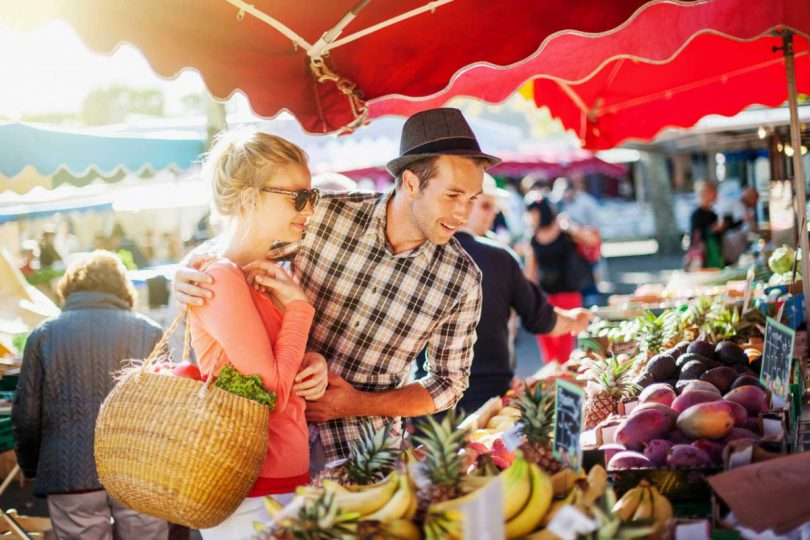 Wochenmarkt statt Supermarkt: Nutzen Sie diese Vorteile