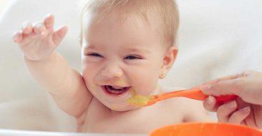 Drei einfache Rezepte für ausgewogene Babynahrung