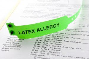 Haben Sie eine Allergie gegen Latex?