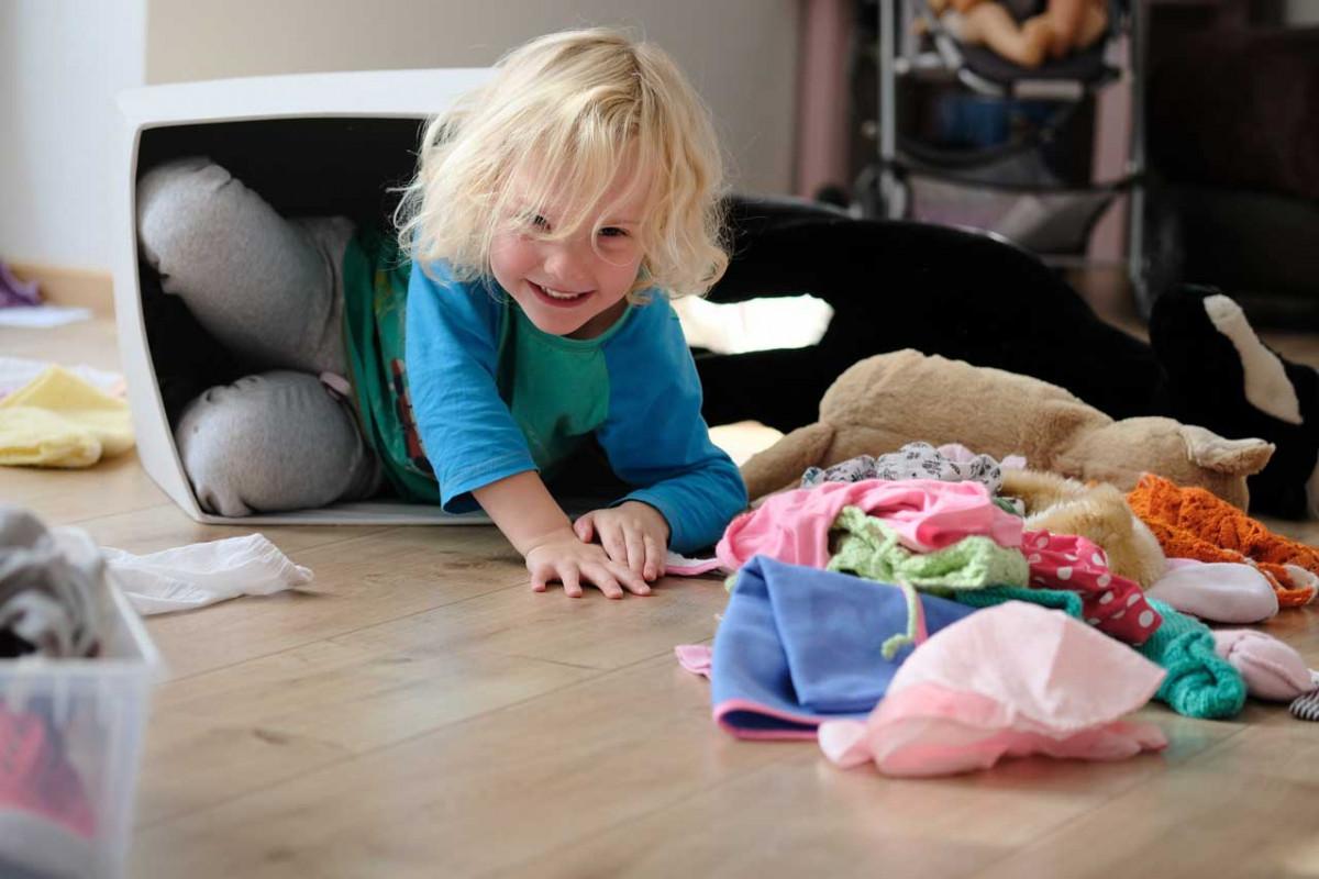 Chaos ade – So entrümpeln Sie das Kinderzimmer