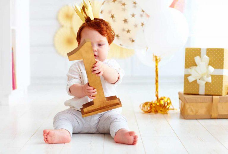 4 schöne Ideen, wie Sie den ersten Geburtstag Ihres Kindes feiern können