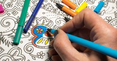 Malbücher für Erwachsene: Der neue Trend zur Stressbewältigung