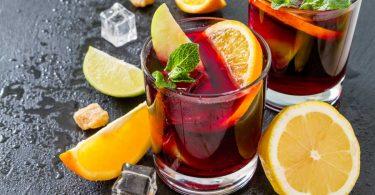 Spätsommerhit: Fruchtige Sangria mit Zitrusfrüchten und Pfirsich