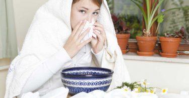 5 Mittel zum Inhalieren, damit Sie eine Erkältung schnell wieder los werden